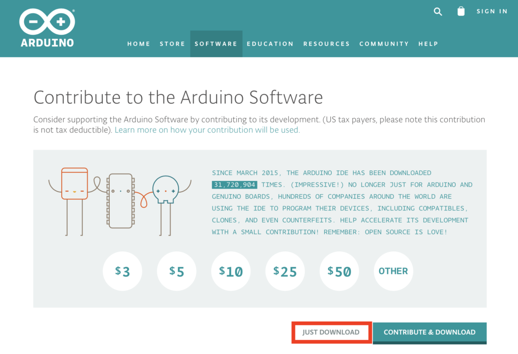 Arduino IDE download