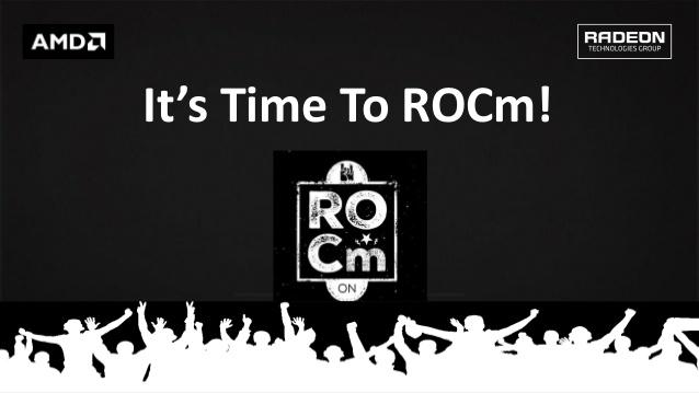 ROCm keynote title