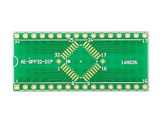 32ピンQFP変換基板